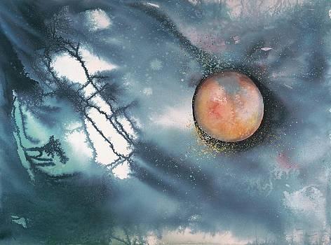 Lunar Eclipse by Robin Samiljan