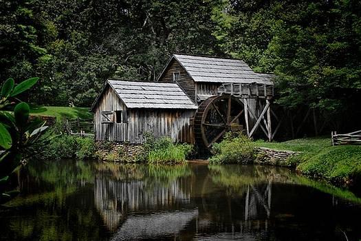 Mabry Mill by Christine Annas