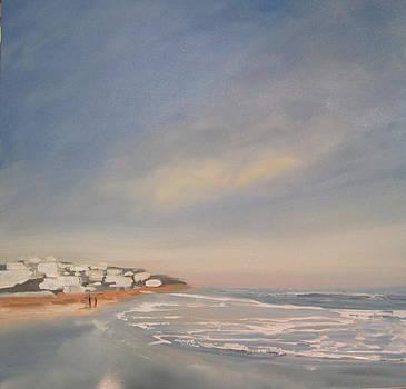 Malibu Sunset l by Valentine Estabrook
