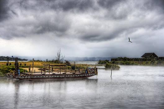 Maori canoe by Andreas Hartmann