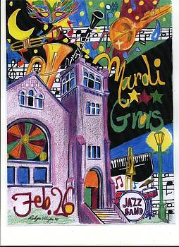 Mardi Gras by Rodger Ellingson