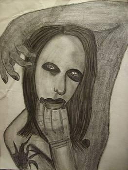 Marilyn Manson by Brittney Wallace