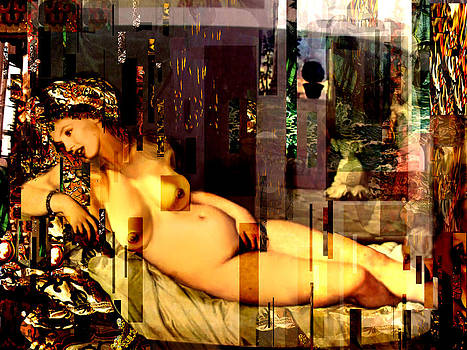 Marilyn Monroe Nude in opium house by Karine Percheron-Daniels