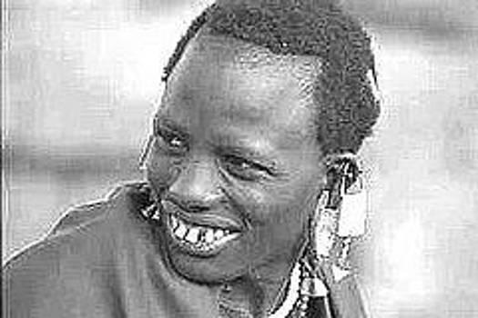 Masai man by Dennis Ditmeijer