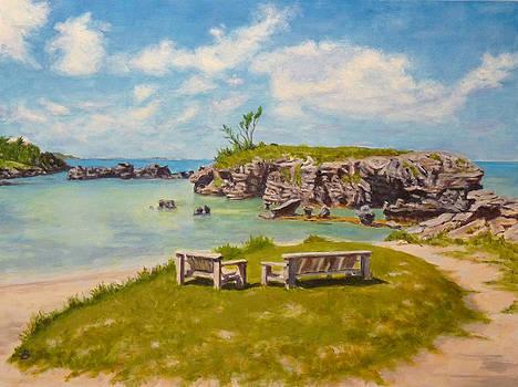 Memories Tobacco Bay Bermuda by Joe Bergholm