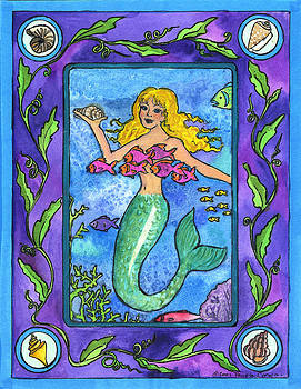 Mermaid by Pamela  Corwin