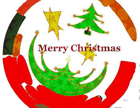Merry Christmas  by Jan Steadman-Jackson