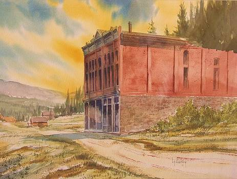 Miners Union Hall Granite Ghost Town Montana by Kevin Heaney