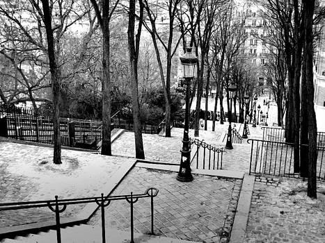 Montmartre by Sorin Ghencea