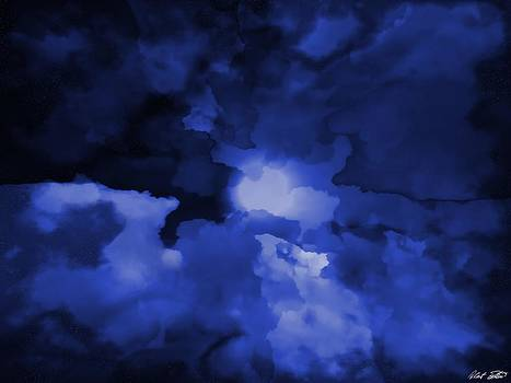 Moonlit Clouds by Robert Bertino