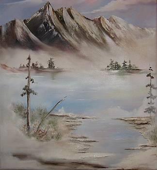 Mountain range by Anne Marie Spears