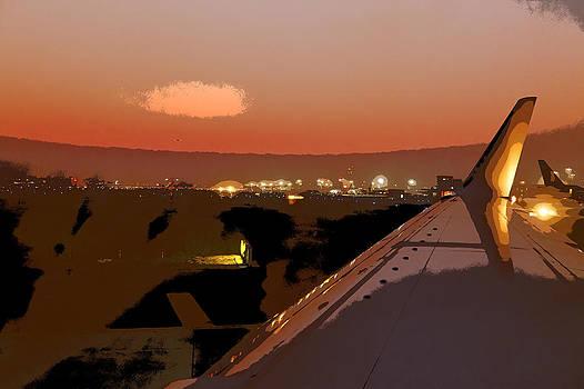 Kantilal Patel - Mumbai Airport Twilight