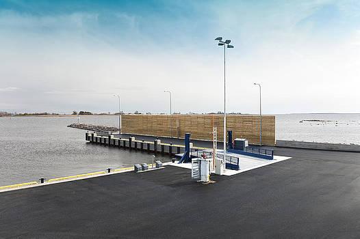 Munalaiu Harbour On The Gulf Of Riga by Jaak Nilson