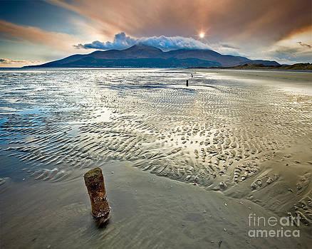 Murlough Sunset by Derek Smyth
