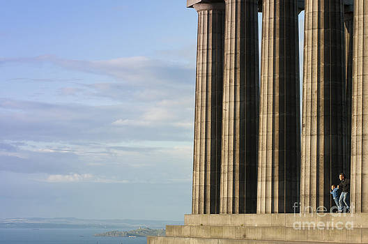 National Monument on Calton Hill by Andrew  Michael