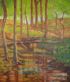 Nebletts Creek II by Lilibeth Andre
