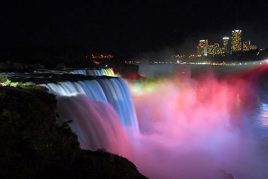 Niagara Falls Nightview by Bhupendra Singh