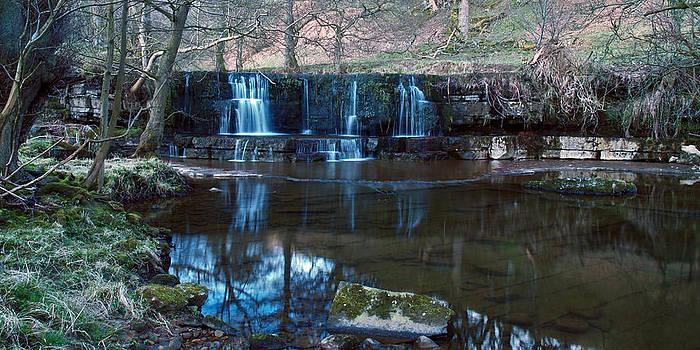Nidd Falls by Steve Watson
