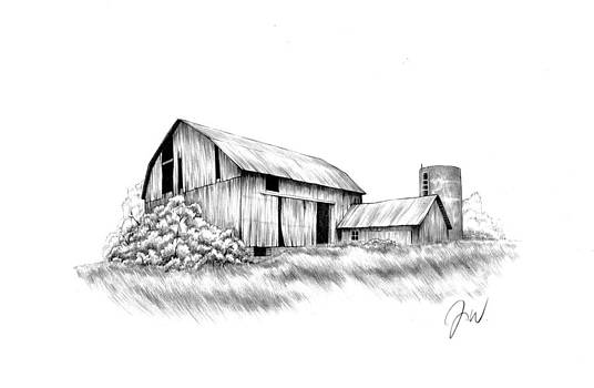 No Country For Old Barns by Jamie Warkentin