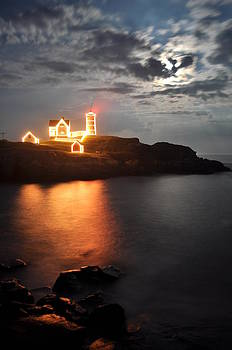 Nubble Lighthouse in York by Rick Frost