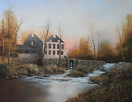 Old Mill on the Little Antietam by John Neal Mullican