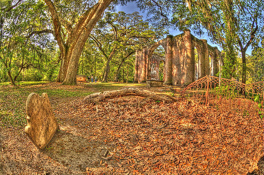 Old Shelton Church Ruins by Mike Wilson