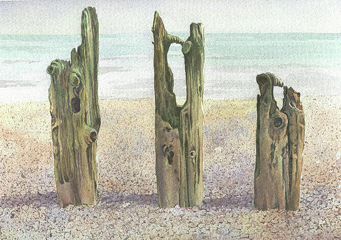 On Winchelsea Beach by Maureen Carter
