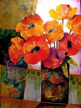Orange Dream by Carol  Nelson
