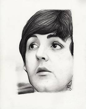 Paul McCartney by Rosalinda Markle