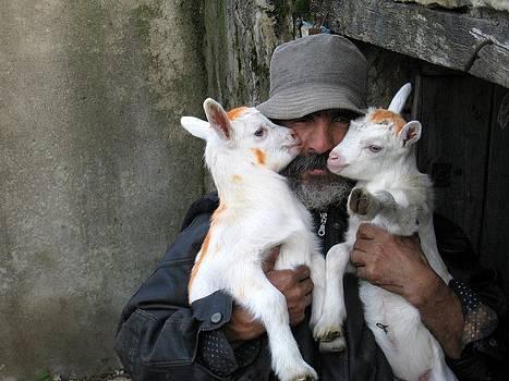 Peasant In Algeria by Kamel Rekouane