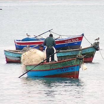 Peruvian Fisherman by Patty Descalzi