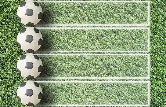 Plasticine Football  by Veeradech Triwatcharanon