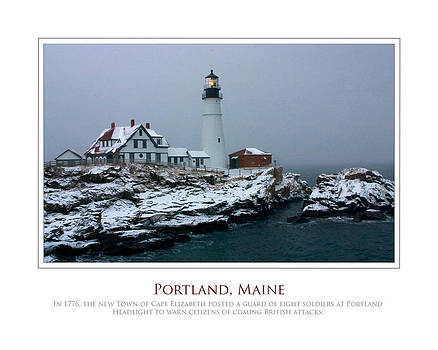 Portland Headlight by Jim McDonald Photography