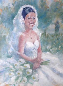 Gertrude Palmer - Portrait of a Bride