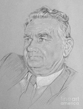 Portrait of a Man John by Gillian Owen