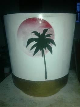 Pot Flower by Shadrach Muyila