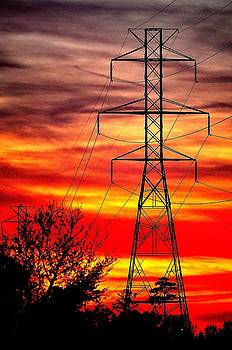 Power Sunset by Eric Grissom