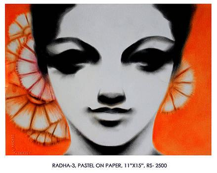 Radha by Pk Sahoo