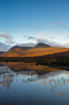 Rannoch Moor at sunrise by Gabor Pozsgai