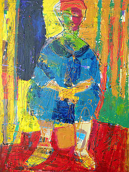 Recalling the Seated Riffian by Matisse by Eria Nsubuga