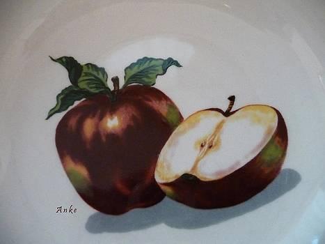 Red Apples by Anke Wheeler