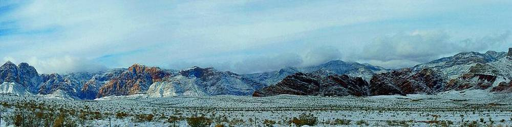 Red Rock Snow by Jonathan Barnes