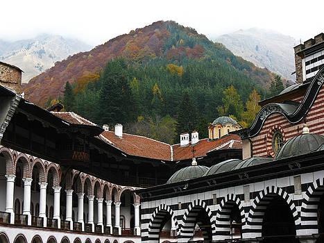 Rila Monastery Bulgaria by Ian Stevenson