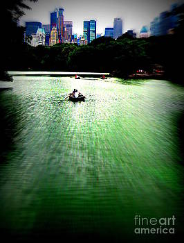 Rowing Through NYC by Maria Scarfone