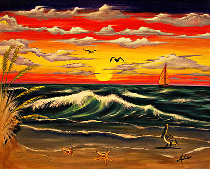 Sailors Delight by Adele Moscaritolo