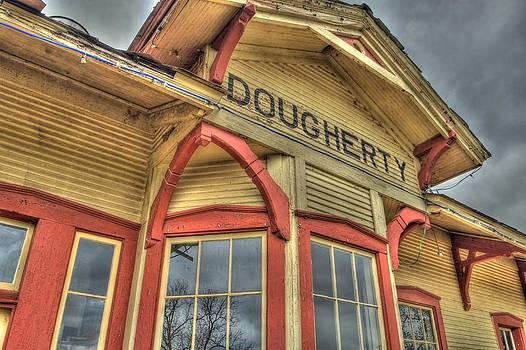 Santa Fe Train Depot by Terry Hollensworth-Rutledge