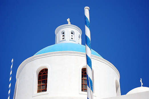 Harvey Barrison - Santorini Church