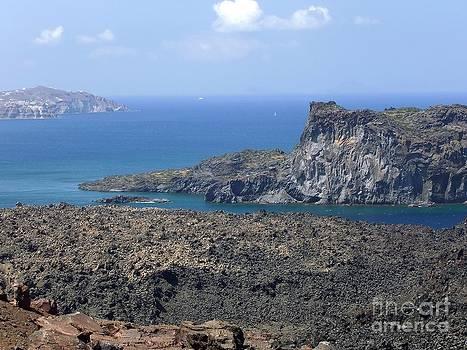 Sophie Vigneault - Santorini Volcano