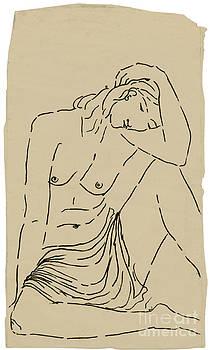 Karin Zukowski - Seated Nude