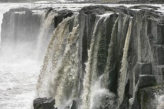 Sellfoss Falls - Iceland by Phil Degginger